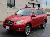 2011 Barcelona Red Metallic Toyota RAV4 V6 Sport 4WD #105390679