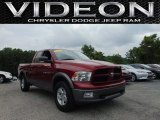 2011 Deep Cherry Red Crystal Pearl Dodge Ram 1500 SLT Quad Cab 4x4 #105390667