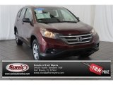 2012 Basque Red Pearl II Honda CR-V LX #105390244