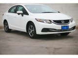 2015 Taffeta White Honda Civic SE Sedan #105423630