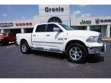 2014 Bright White Ram 1500 Laramie Crew Cab 4x4 #105423691
