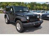 2010 Black Jeep Wrangler Rubicon 4x4 #105423775