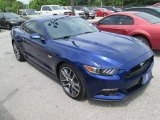 2015 Deep Impact Blue Metallic Ford Mustang GT Coupe #105423578