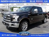 2015 Tuxedo Black Metallic Ford F150 King Ranch SuperCrew 4x4 #105423391