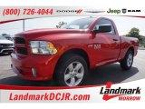 2015 Flame Red Ram 1500 Express Regular Cab #105458675