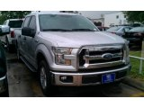 2015 Ingot Silver Metallic Ford F150 XLT SuperCrew #105458557