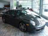 2007 Slate Grey Metallic Porsche 911 Turbo Coupe #10495