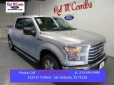 2015 Ingot Silver Metallic Ford F150 XLT SuperCrew #105458554