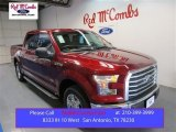 2015 Ruby Red Metallic Ford F150 XLT SuperCrew #105458553