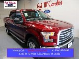 2015 Ruby Red Metallic Ford F150 XLT SuperCrew 4x4 #105458552