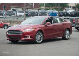 2016 Ruby Red Metallic Ford Fusion SE AWD #105458707