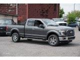2015 Magnetic Metallic Ford F150 XLT SuperCab 4x4 #105458704