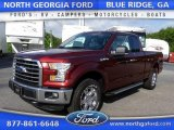 2015 Bronze Fire Metallic Ford F150 XLT SuperCab 4x4 #105458473