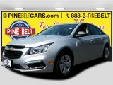 2016 Silver Ice Metallic Chevrolet Cruze Limited LS #105489067