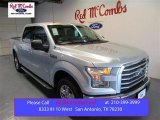 2015 Ingot Silver Metallic Ford F150 XLT SuperCrew #105489133