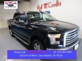 2015 Tuxedo Black Metallic Ford F150 XLT SuperCrew #105489129