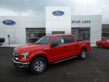 2015 Race Red Ford F150 XLT SuperCrew 4x4 #105489337
