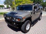 2003 Pewter Metallic Hummer H2 SUV #105509258