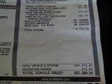 2003 Hummer H2 SUV Window Sticker