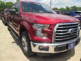 2015 Ruby Red Metallic Ford F150 XLT SuperCrew #105514370