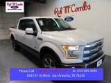2015 White Platinum Tricoat Ford F150 King Ranch SuperCrew 4x4 #105514360