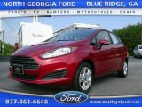 2015 Ruby Red Metallic Ford Fiesta SE Sedan #105514309
