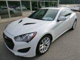 2013 Hyundai Genesis Coupe White Satin Pearl