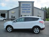 2013 Oxford White Ford Escape SE 2.0L EcoBoost 4WD #105536334