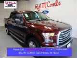 2015 Bronze Fire Metallic Ford F150 XLT SuperCrew #105535787