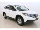 2013 White Diamond Pearl Honda CR-V LX AWD #105536218