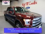 2015 Bronze Fire Metallic Ford F150 King Ranch SuperCrew 4x4 #105535781
