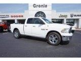 2014 Bright White Ram 1500 Big Horn Quad Cab #105536046