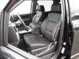 2015 Chevrolet Silverado 1500 LTZ Crew Cab 4x4 Front Seat
