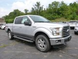 2015 Ingot Silver Metallic Ford F150 XLT SuperCrew 4x4 #105575233