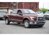 2015 Bronze Fire Metallic Ford F150 XLT SuperCrew 4x4 #105575314