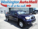2012 Nautical Blue Metallic Toyota Tacoma SR5 Access Cab 4x4 #105575221