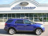 2013 Deep Impact Blue Metallic Ford Explorer XLT 4WD #105609504