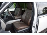 2015 Ford Expedition EL King Ranch 4x4 Front Seat