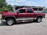 2005 Sport Red Metallic Chevrolet Silverado 1500 Z71 Crew Cab 4x4 #105609684