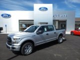 2015 Ingot Silver Metallic Ford F150 XL SuperCrew 4x4 #105638940