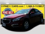 2016 Siren Red Tintcoat Chevrolet Cruze Limited LT #105638481