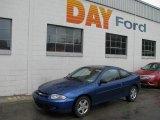 2003 Arrival Blue Metallic Chevrolet Cavalier LS Coupe #10542911