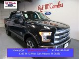 2015 Tuxedo Black Metallic Ford F150 King Ranch SuperCrew 4x4 #105638549