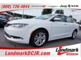 2015 Bright White Chrysler 200 Limited #105638685