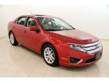 2010 Sangria Red Metallic Ford Fusion SEL #105638914