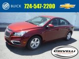 2016 Siren Red Tintcoat Chevrolet Cruze Limited LT #105638835