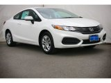 2015 Taffeta White Honda Civic LX Coupe #105638748