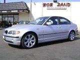 2003 Titanium Silver Metallic BMW 3 Series 325i Sedan #1055707