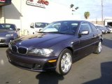 2006 Sparkling Graphite Metallic BMW 3 Series 325i Coupe #1055671