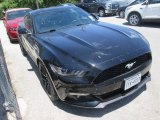 2015 Black Ford Mustang EcoBoost Premium Coupe #105638572